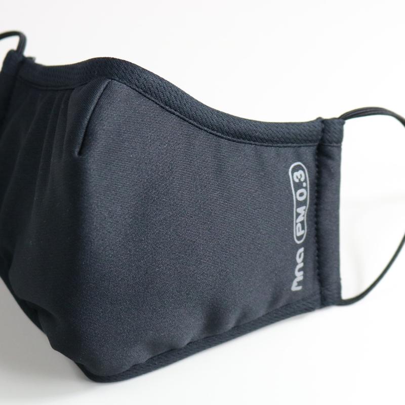 【肺常新鮮mnaPM0.3】高效防護口罩/黑藍色L
