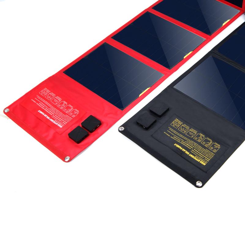 【太陽能充電寶】SUNPOWER太陽能移動電源三星19v筆記本通用戶外防水手機充電寶器