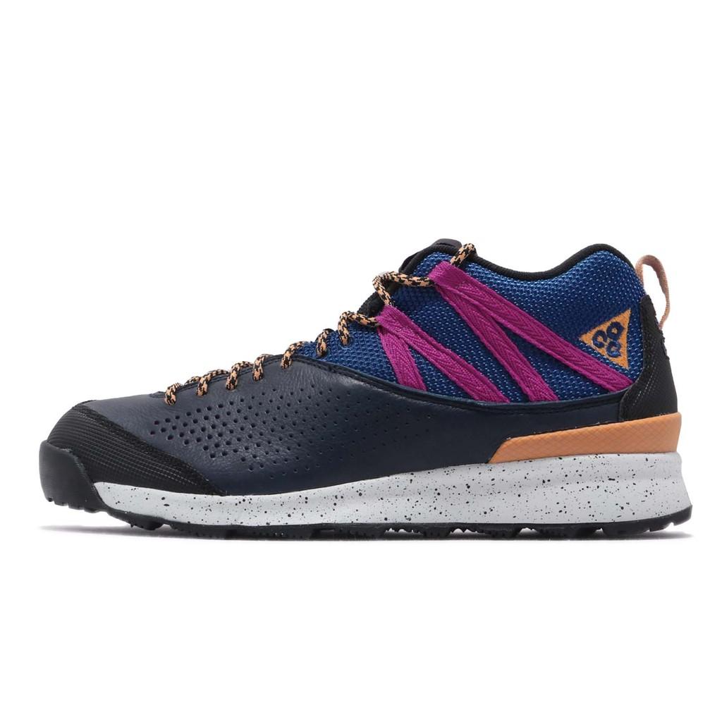 Nike ACG Okwahn II 深藍 紫 戶外鞋款 男鞋 高筒 球鞋 525367-400 【ACS】