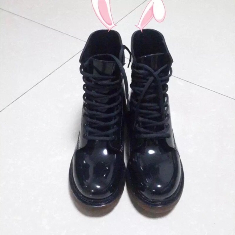 男馬丁雨鞋