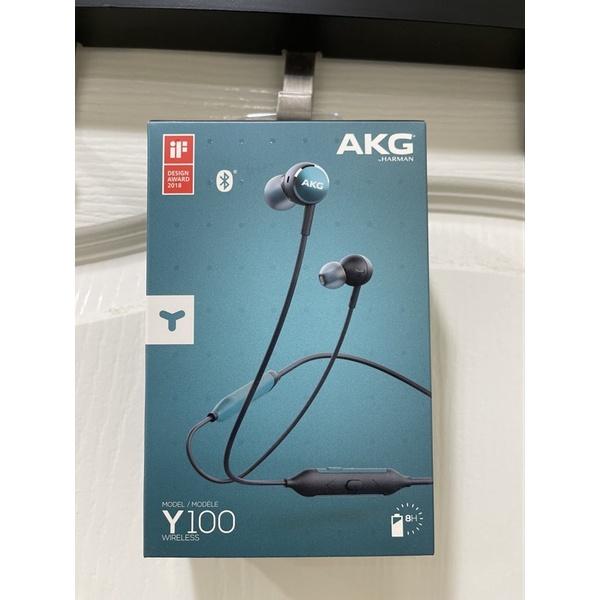 AKG Y100藍牙耳機