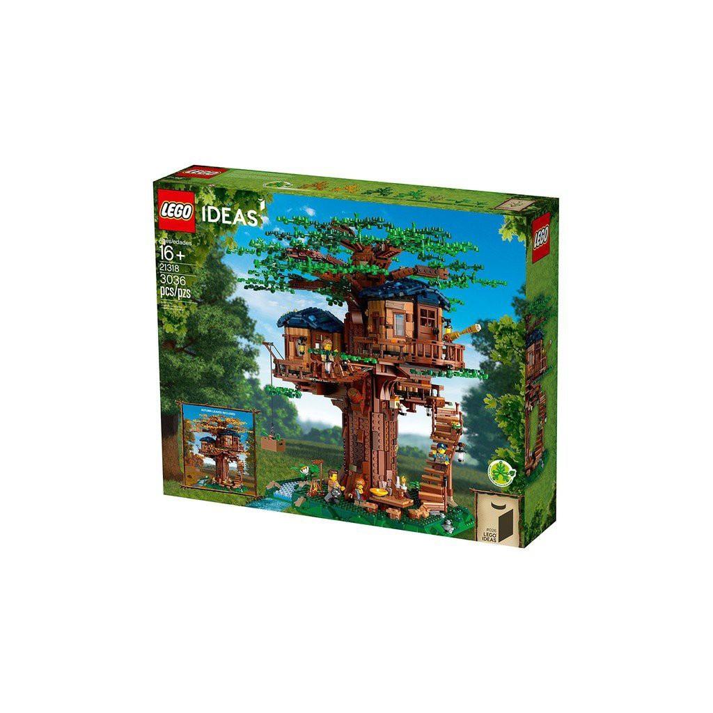 [Yasuee臺灣] LEGO 樂高 21318 IDEAS 樹屋 Tree House現折 下單前請先詢問