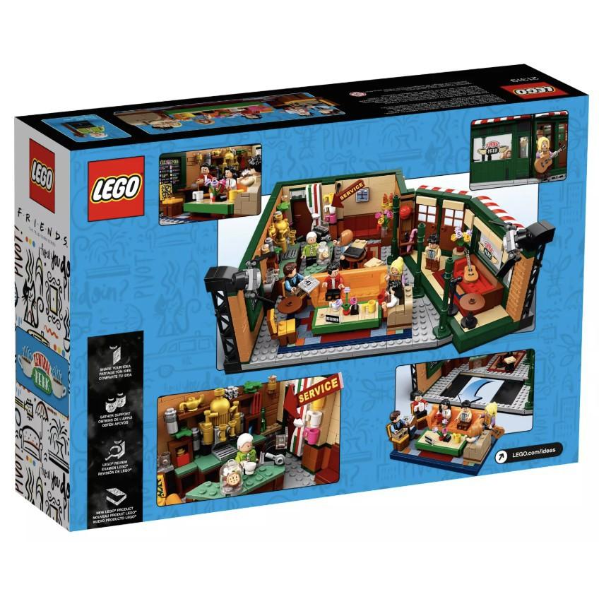 【花園小店】LEGO IDEAS 21319 中央公園咖啡館 Central Perk