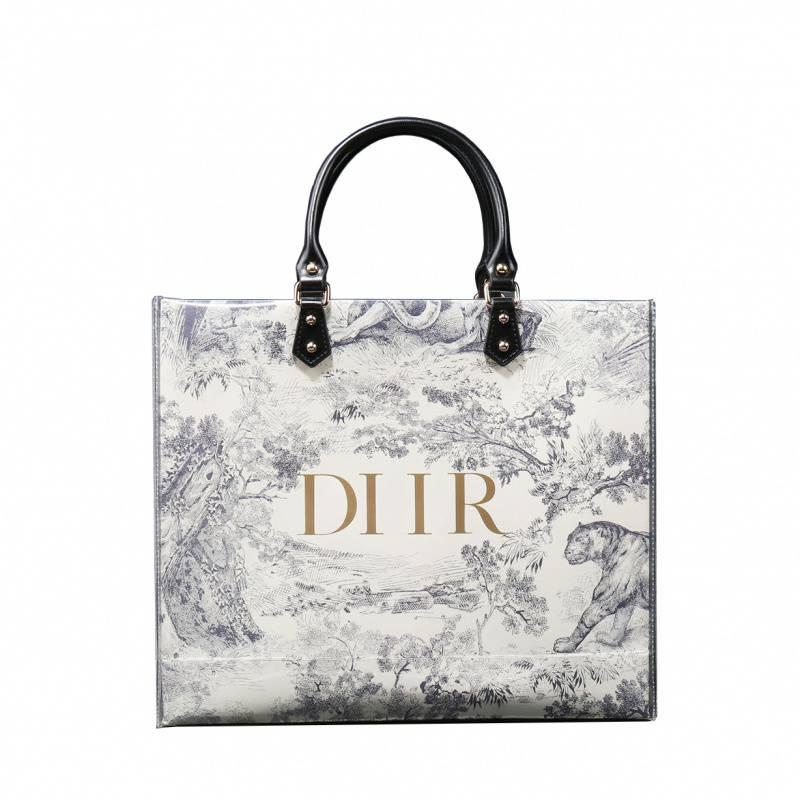 Dior紙袋包改造材料包  紙袋包 大牌紙袋改造包 大牌改造購物袋 禮品袋改裝手提包