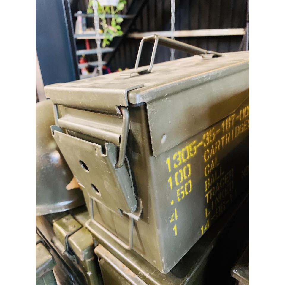 ~ 囍 閱 家 居 ~ LOFT 工業 軍事 彈藥 收納 舊貨 軍規鋼板 軍用彈藥箱