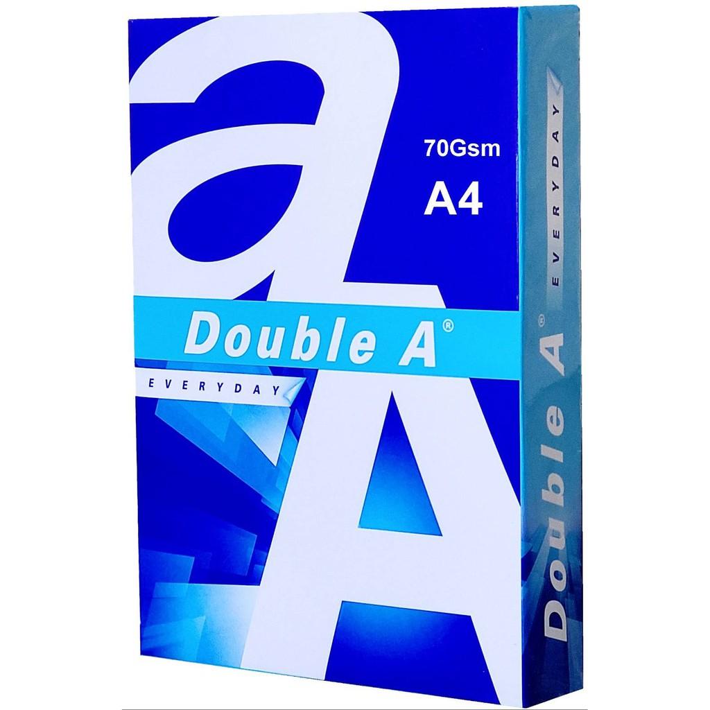 Double A A4 70磅 80磅 多功能FSC認證 環保紙 影印紙 (一包500張入) 超商取貨一次最多2包