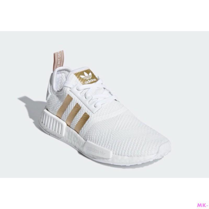 渲- Adidas NMD R1 白金