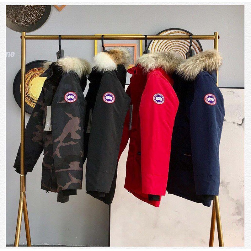 Canada goose 風衣外套 連帽外套 防寒保暖 加拿大 大鵝外套 羽絨外套 進口百靈達繡花機1521