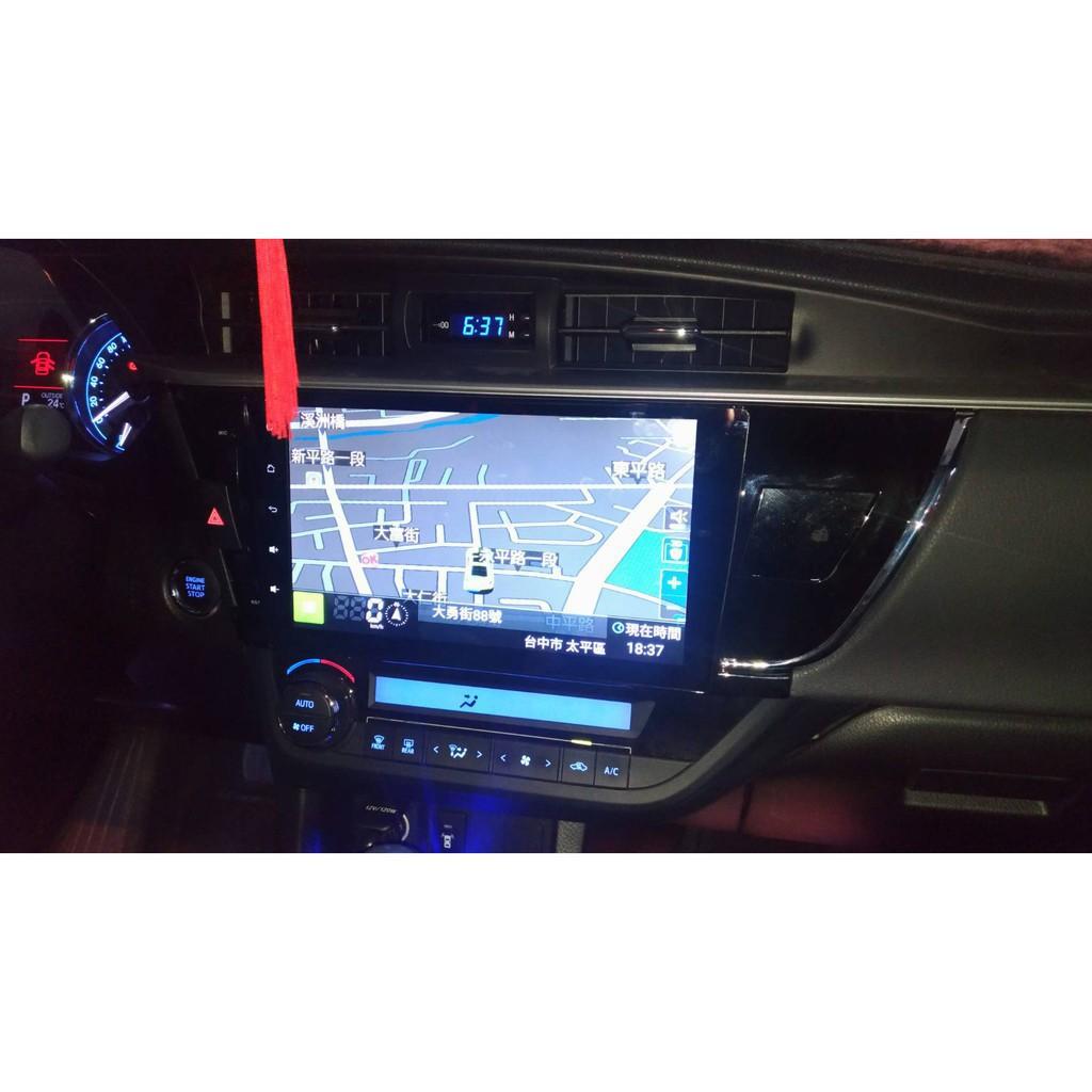 "TOYOTA豐田 ALTIS 11代 10.2""安卓系統 觸控螢幕 汽車主機"