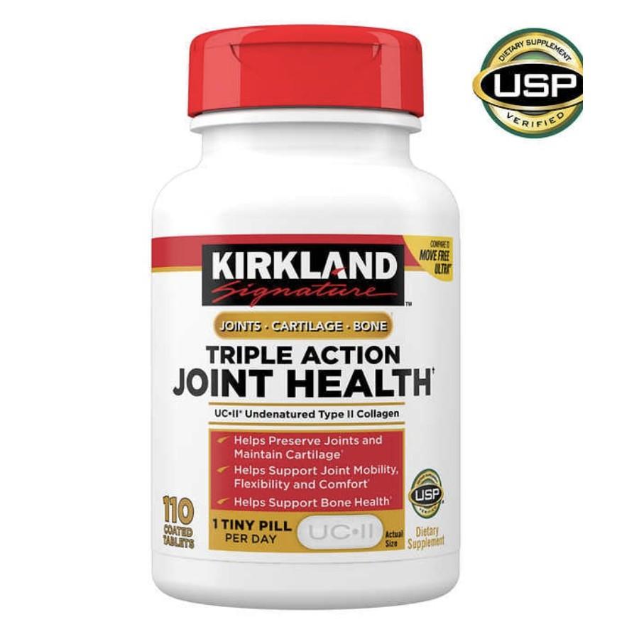 美國好市多代購 Kirkland柯克蘭骨膠原維骨力UC-Ⅱ關節健康營養補充110粒