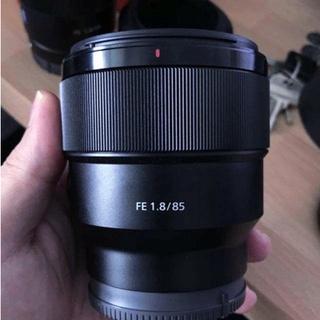 索尼SONY FE 85 1.8 85mm F1.8 遮光罩 SH150 卡口型可反扣無暗角