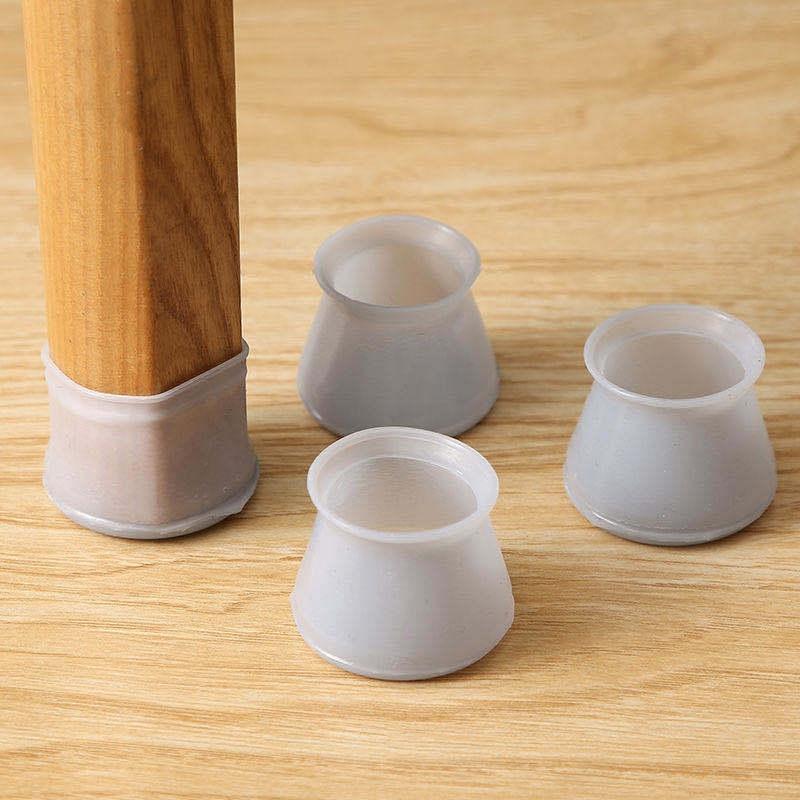 硅膠椅子腳套 靜音凳子腿保護套 木地板防滑椅腳墊家用耐磨桌椅腳套
