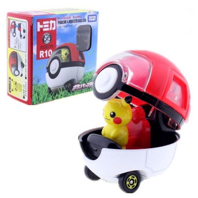★現貨★多美 DREAM TOMICA 騎乘系列 R10 皮卡丘寶貝球車 寶可夢