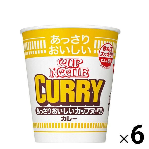 日清NISSIN 清爽版 經典咖哩拉麵 6入裝 J933146