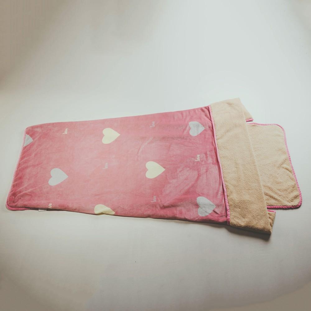 絲薇諾 (甜蜜蜜)法蘭羊羔絨睡袋毯(1.3kg)