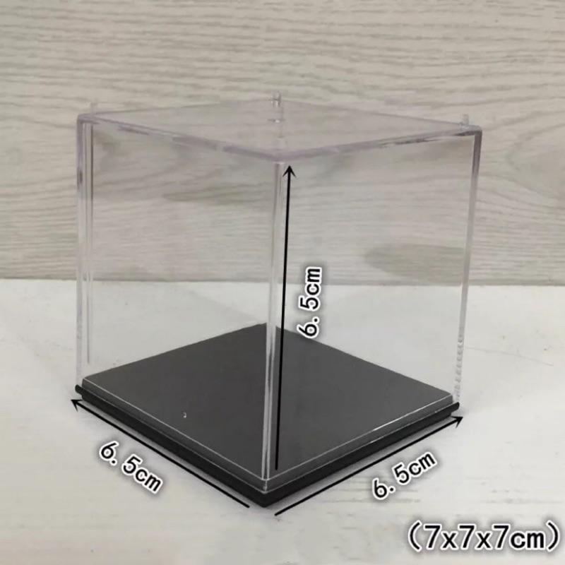 戰鬥陀螺 透明小型壓克力展示盒 現貨 公仔 收納盒 防塵罩 整體式 一體成型 透明 無客製化