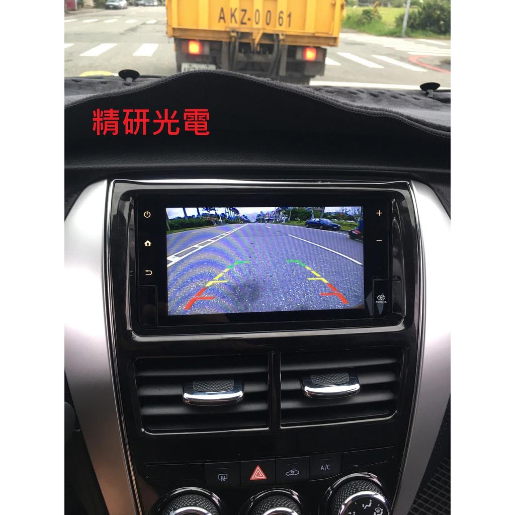 <上市特價>TOYOTA 2018  YARIS VIOS 原廠主機 倒車顯影 選配 倒車影像 倒車鏡頭 預留 距離標線
