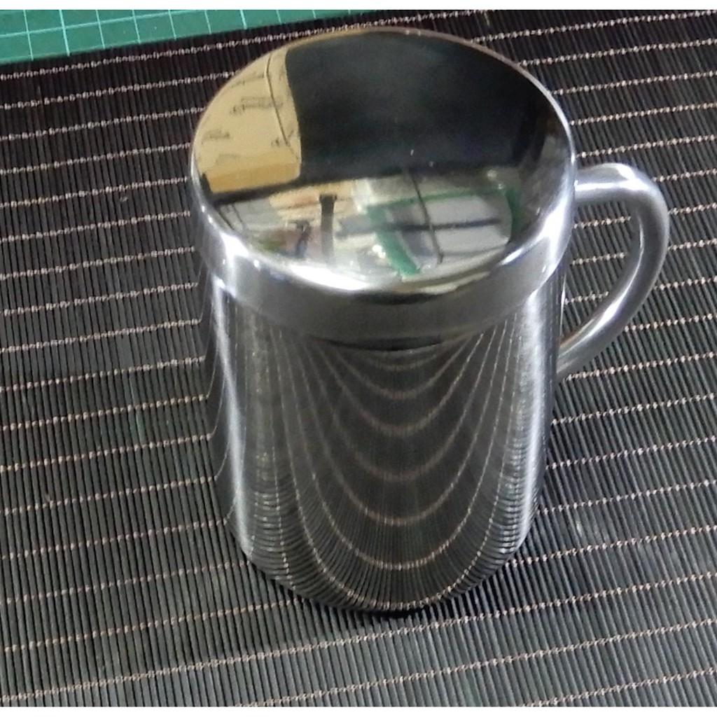 雙層不鏽鋼杯304雙層不鏽鋼杯雙層不鏽鋼水杯有蓋雙層不鏽鋼杯SUS304杯
