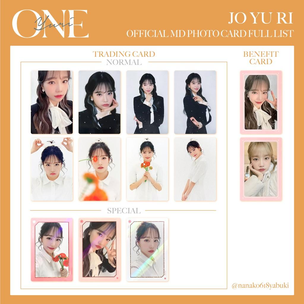 🐹IZ*ONE izone 線上演唱會 ONE,THE STORY 隨機卡 隨機卡包 周邊小卡 閃卡 普卡 柔理 曺柔理