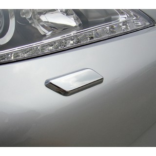 Lexus 2012~2015 ES250 ES300h ES350 改裝 前保桿鍍鉻銀噴水蓋飾貼 洗燈器飾蓋