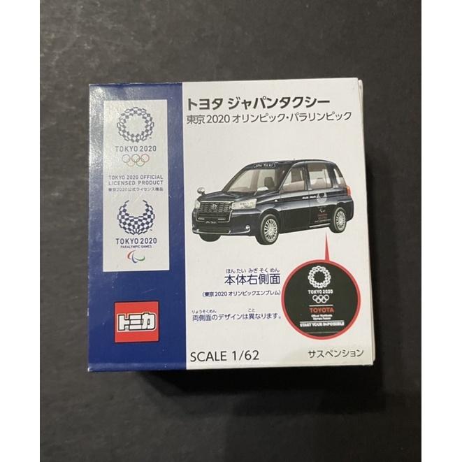 Tomica日本奧運計程車金屬車,奧運限定版,前年日本旅遊帶回,只有一台,全新,複數故出售,未使用,盒裝精美