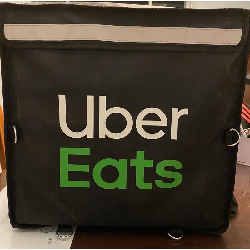 Uber Eats 黑色大包四代保溫袋–上掀包官方保溫袋