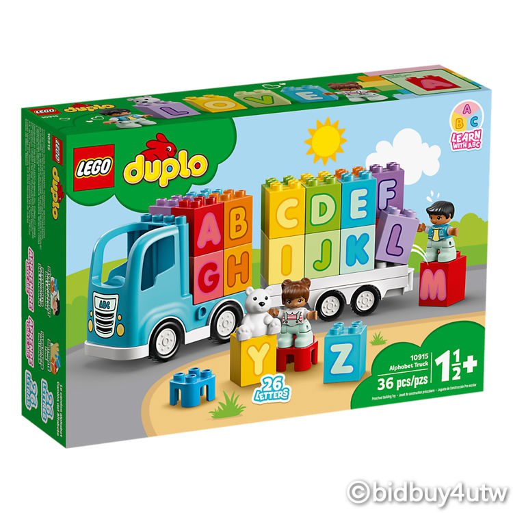 LEGO 10915 字母卡車 得寶系列 【必買站】樂高盒組