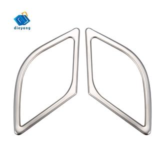 適用於圖森2015-2019不銹鋼汽車前門的揚聲器音響喇叭環蓋飾板汽車造型