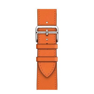 watch 錶帶 蘋果手錶錶帶 手錶錶帶 蘋果表帶 適用Apple watch 6愛馬仕真皮蘋果表帶iwatch 6代5