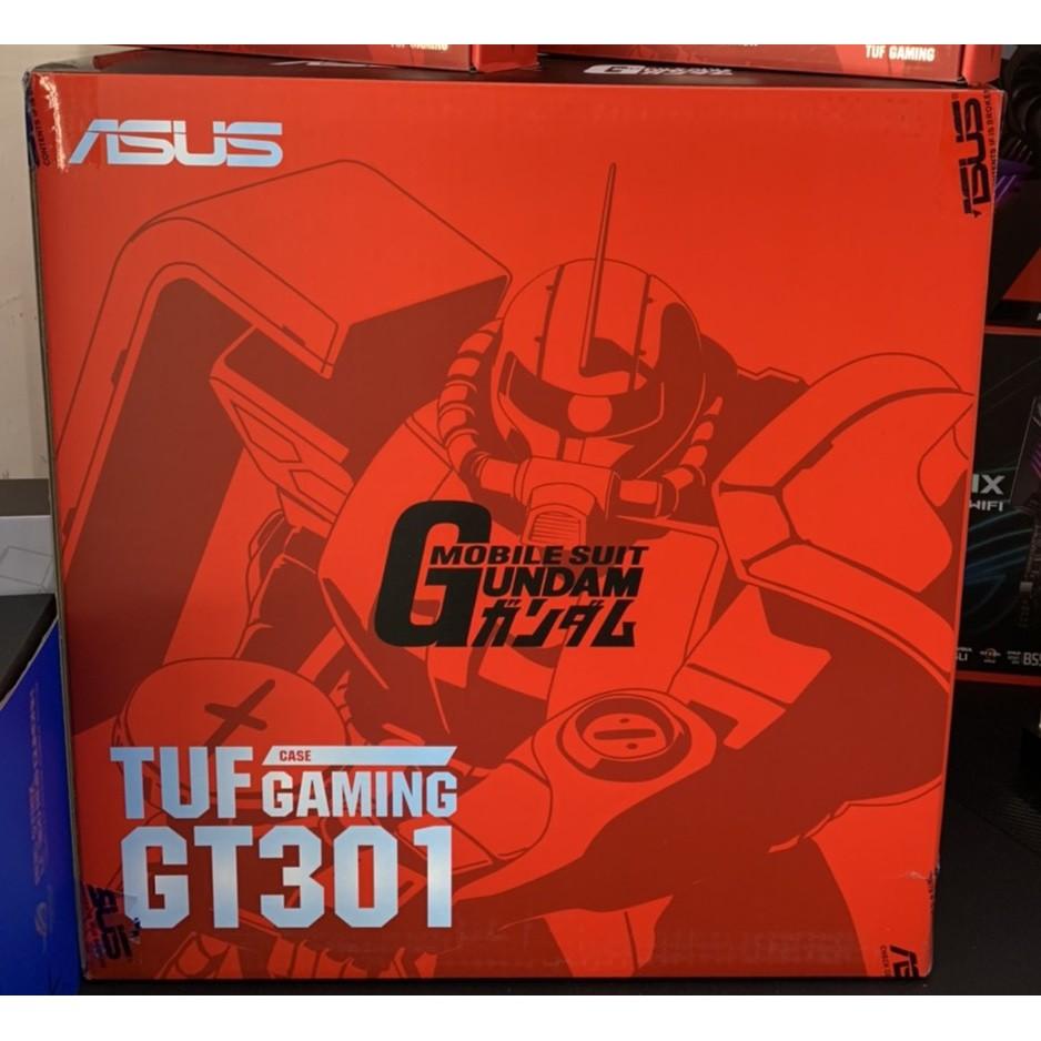 (售完即絕)華碩 TUF Gaming GT301 ZAKU II 薩克 顯卡長32/CPU高16/耳機架/玻璃透側