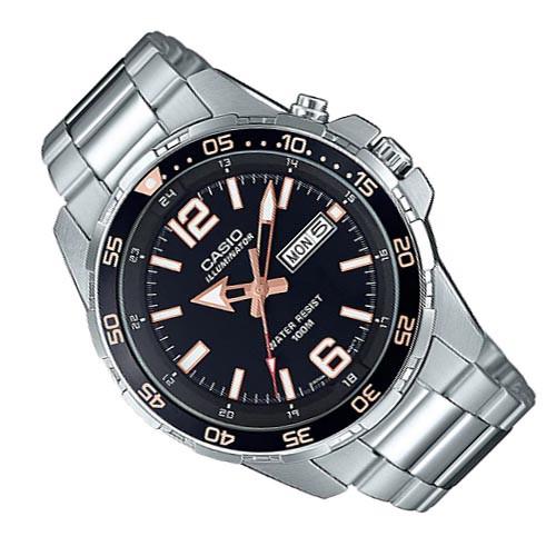 CASIO 強化照明 日期窗 潛水款 簡約腕錶 MTD-1079D-1A3 (1079)