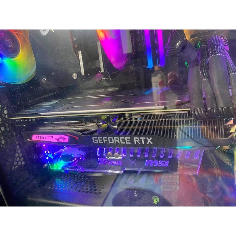 二手便宜甩賣MSI RTX2070 光追RGB電競顯卡#PUBG#R6#GTA