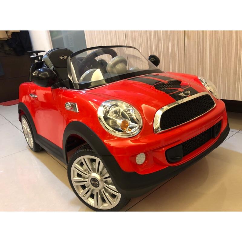 Mini Cooper 雙驅電動車/兒童電動車/附遙控/紅色