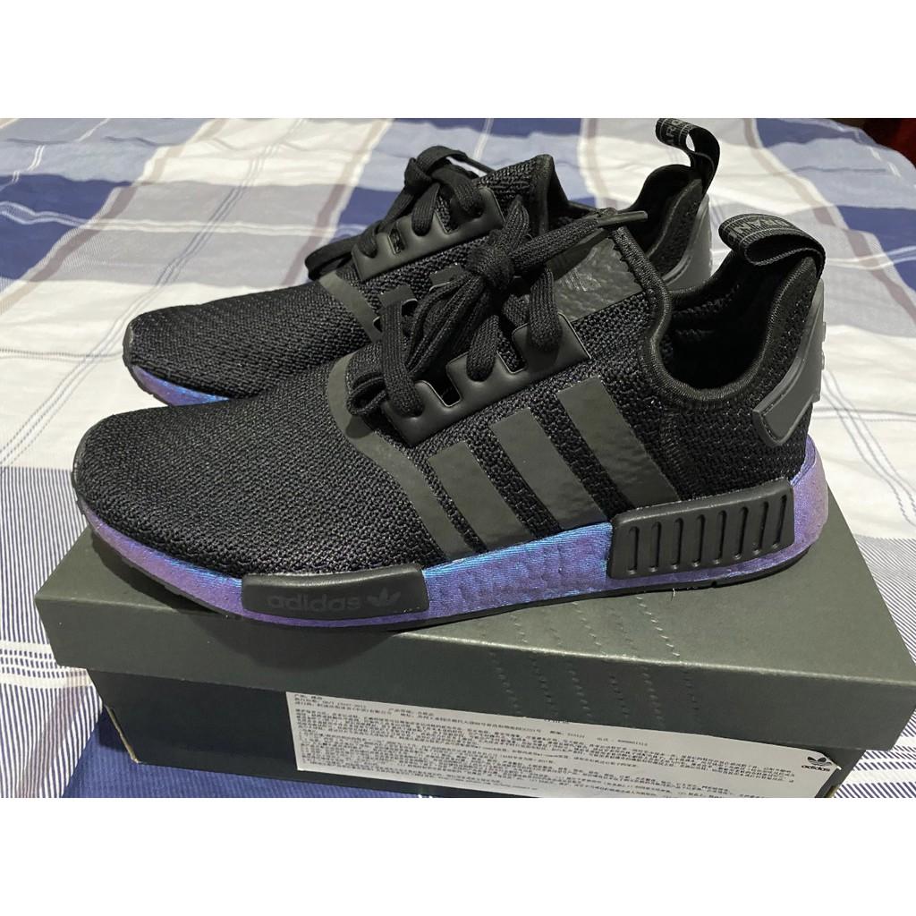 全新 Adidas originals NMD-R1 黑紫 FV3645 慢跑鞋 現貨