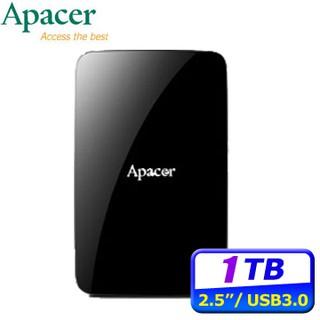[全新]Apacer宇瞻 AC233 1TB 2TB USB3.2 Gen1 2.5吋行動硬碟 台北市
