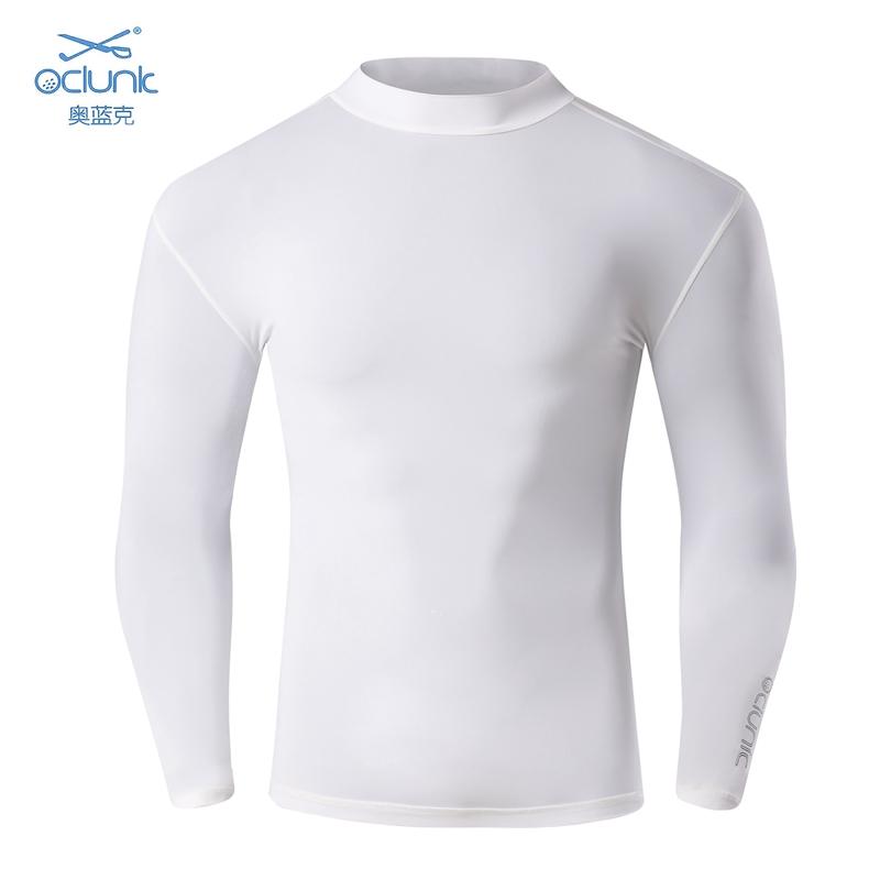 OC 19高爾夫服裝男春夏打底衫防曬衣冰絲涼感高彈功能性內衣長袖