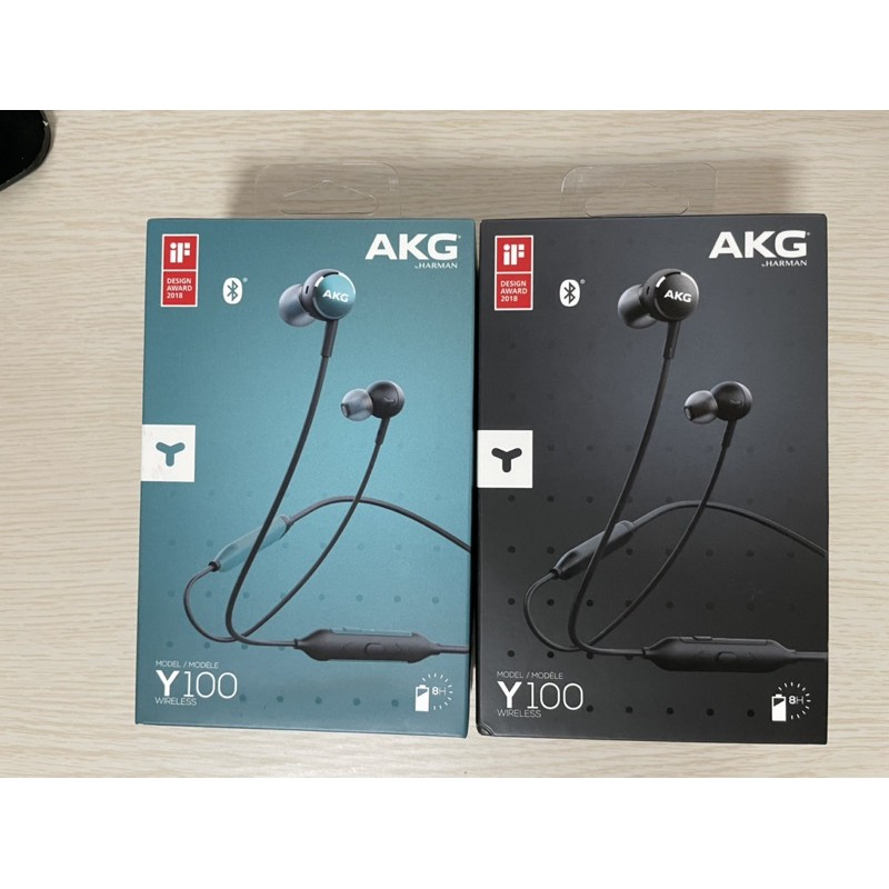 原廠 AKG Y100 Wireless 黑色 無線藍牙 耳道式藍牙耳機