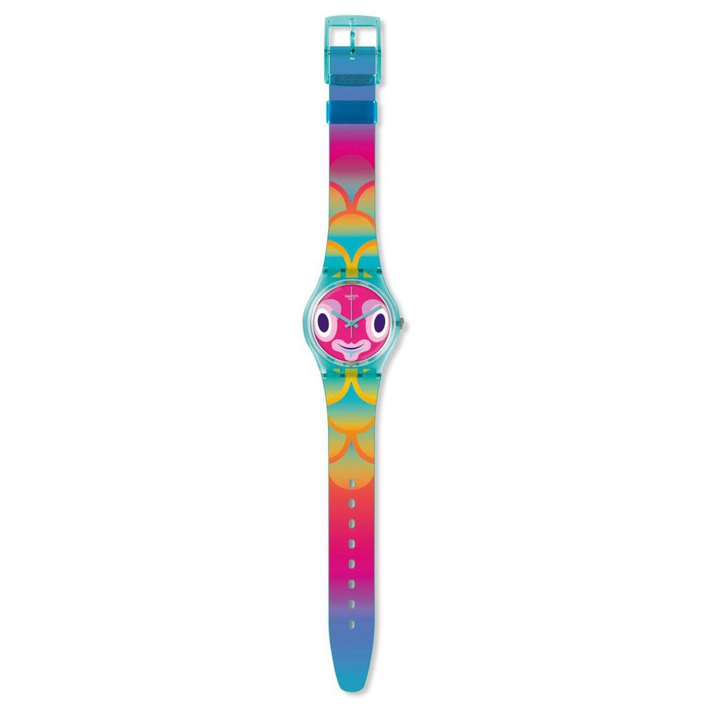 Swatch MR BLUBBY 腕錶 手錶 GL120