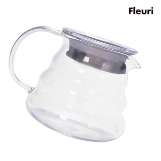 [Home & Living] 玻璃咖啡式服務器250/ 360/ 600 /  800ml咖啡機壺水壺玻璃過濾器250ml
