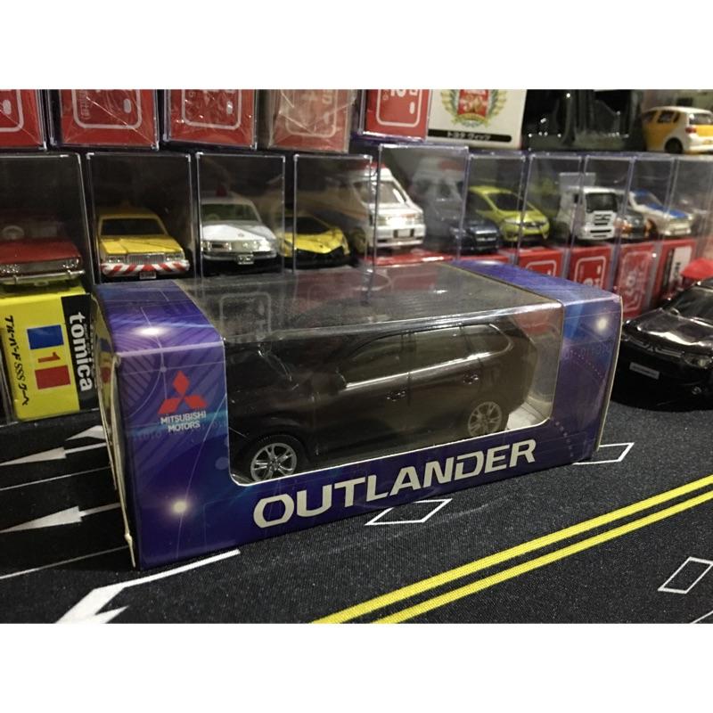 1:43 三菱 Outlander 頭燈發光小車 原廠贈品 非Tomica 風火輪