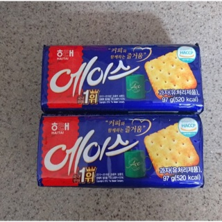 《現貨》韓國代購🇰🇷⭐️Haitai海太 Ace蘇打餅乾 鹹味蘇打餅⭐️ 南投縣
