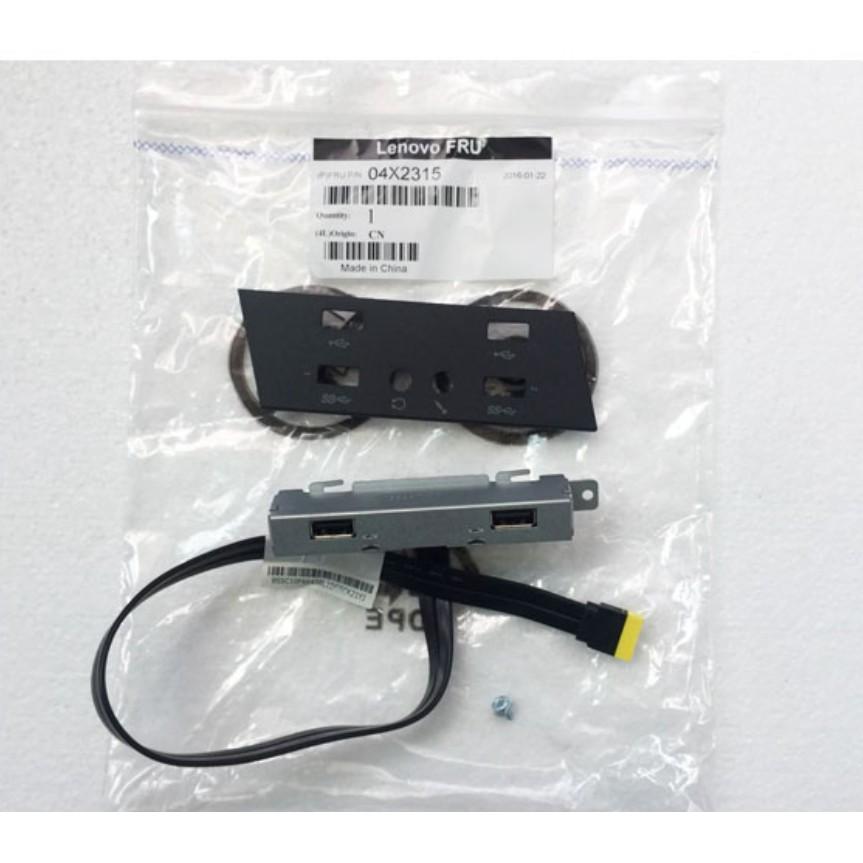適用於 Lenovo Thinkcentre-M93 M93P M83 Usb 接口邊框 Usb 小板 04x2315