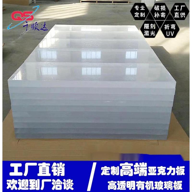 熱銷壓克力板1mm現貨透明亞克力定製切割有機玻璃板磨砂乳白色pc耐力板1-50mm加工零切1