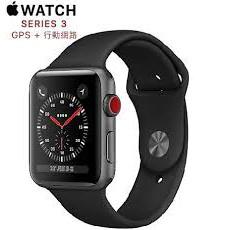 二手 Apple Watch Series 3代 LTE版 38公釐 gps + 行動網路