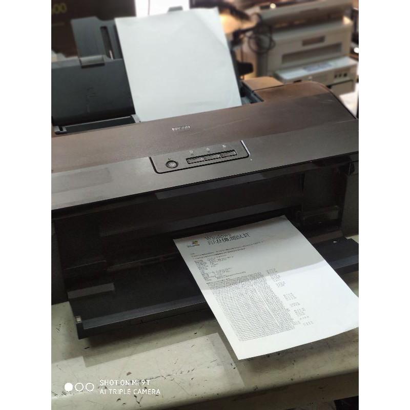 二手 Epson L1800 A3六色單功原廠連續供墨印表機 噴頭已換新 功能正常