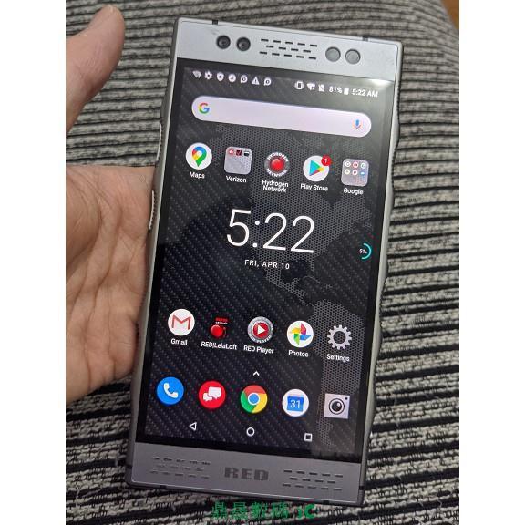 二手95新華碩 ROG Phone紅眼 RED Hydrogne One全息裸眼3D 驍龍835 6+128