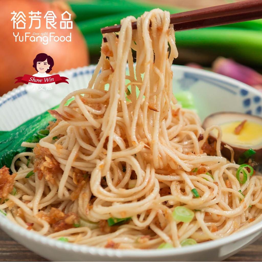 《裕芳食品》XO干貝旗魚香蔥拌麵(3件700元)