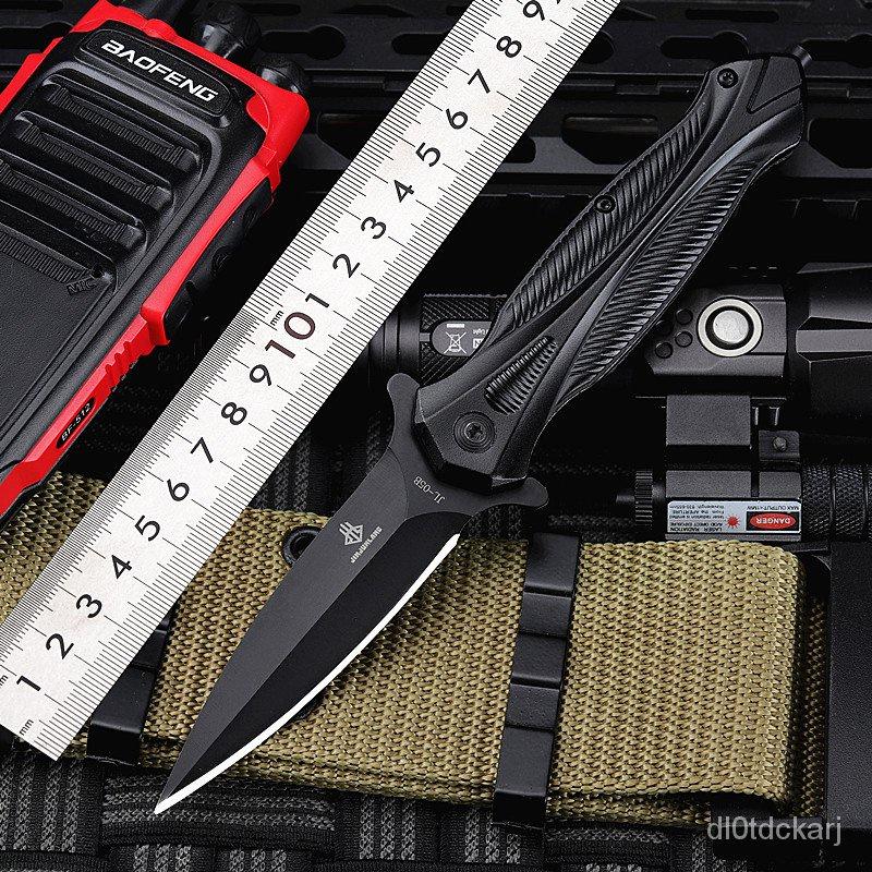 刀具防身折疊刀高硬度水果刀冷兵器俄羅斯刀鋒利軍刀戶外隨身小刀 OiPb