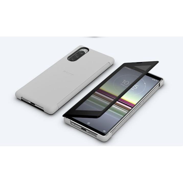 SONY Xperia 5(SCVJ10 原廠殼)原廠智慧視窗時尚觸控式保護套 (二手,不議價)
