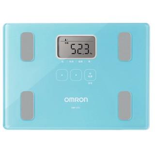 歐姆龍體脂計歐姆龍體重秤體脂稱 身體脂肪測量器 HBF-212 湖藍/ 玫紅 AGAq 桃園市